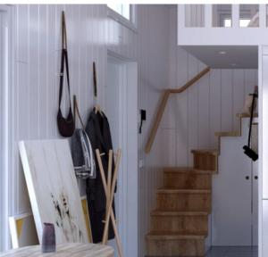 attefallshus trappa sovloft lofttrappa